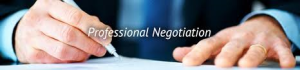 Professional and Corporate Negotiation Services
